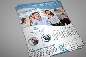 Retiona Corporate Flyer Template