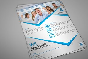 Voeal Corporate Flyer Template