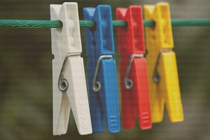Colored buckles