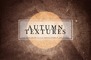 Autumn Textures: Mini Series