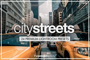 City Streets - Lightroom Presets