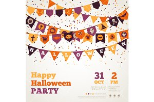 Halloween Party Backgr