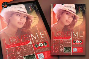 Love Me Party Flyer Template