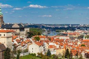 Prague, Czech Republic panorama.