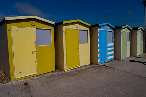 Beach Huts in Sussex