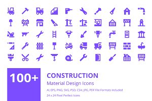100+ Construction Material Icons