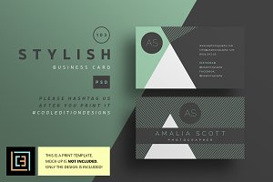 Stylish - Business Card 103