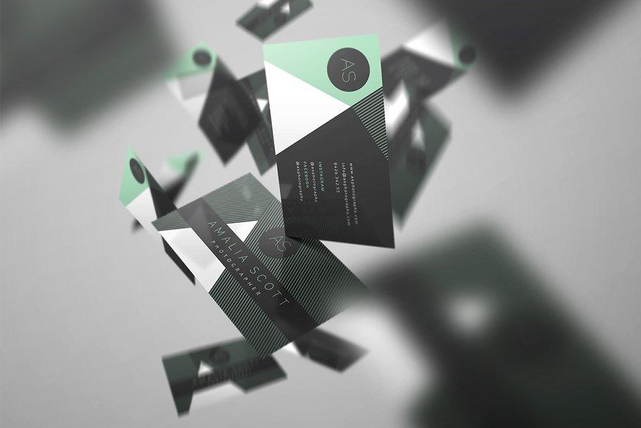 Stylish business card 103 ~ business card templates ~ creative market