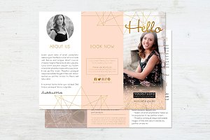 Trifold Brochure | Cute Layout