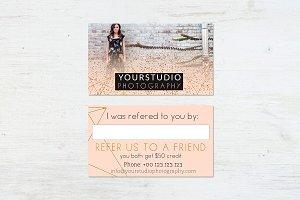 Referral Card | Pastel Greetings