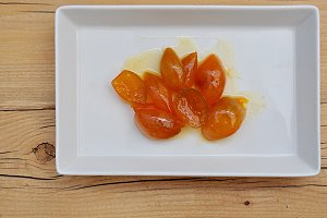 small candied oranges