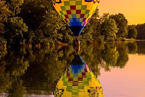 Almost Chromatic Hot Air Balloon
