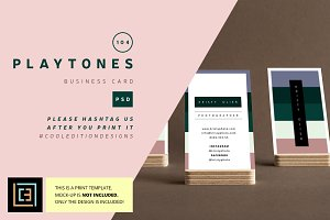 Playtones - Business Card 104