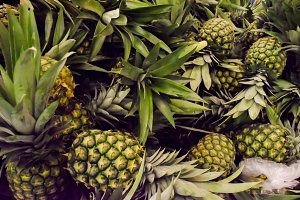 pineapple fruit background