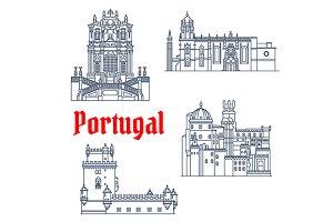 Portuguese architectural landmarks