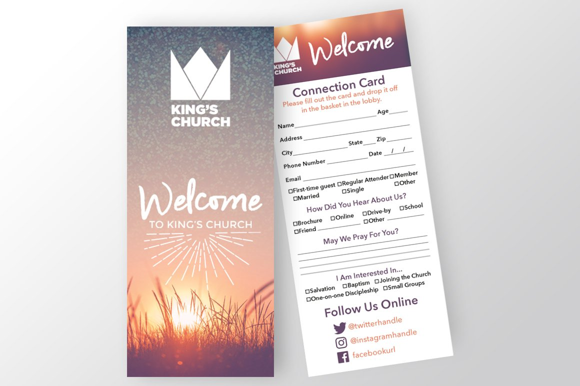 Church Visitor Card Template from images.creativemarket.com