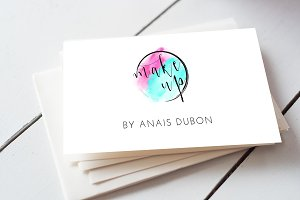 Make up business card