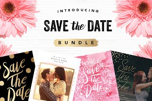 Save the Date Bundle Templates