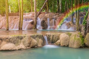 Tad Sae Waterfalls at Luang prabang