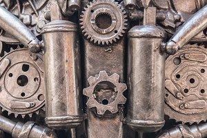 Robot Mechanical ratchets bolts
