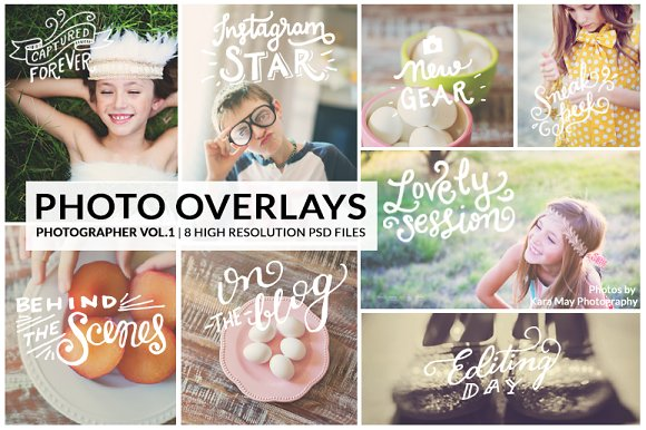 PhotoOverlays The Photographer Vol.1 - Objects