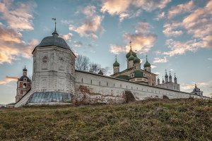 Autumn view of Goritsky Monastery