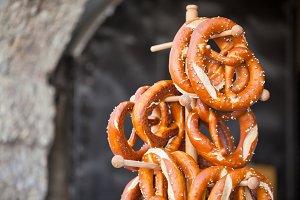 Pretzels - traditional german snacks