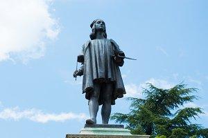 Raphael's statue in Urbino
