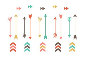 Tribal Arrow Clip Art