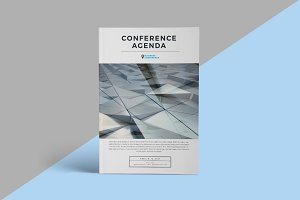 conference brochure template - brochure templates creative market