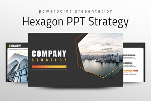Hexagon PPT Strategy