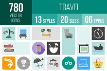 780 Travel Icons