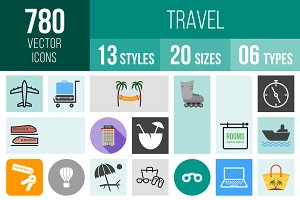 780 Travel Icons