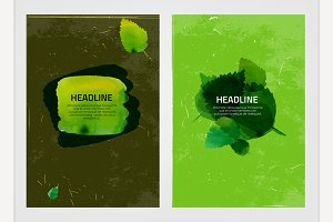 Watercolour Eco Brochures