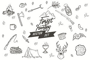 23 in 1 Forest Hunting Set 50% OFF!!