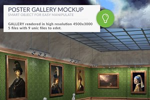 Gallery Mockups Old Paintings HD