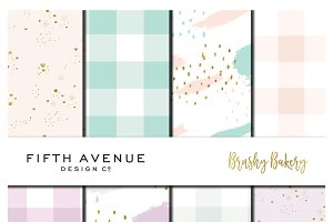 Brushy Bakery - Digital Paper
