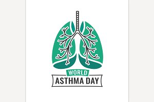 World Asthma Day Logo