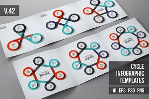 Infographics template set v.42