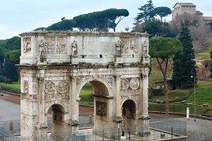 Triumphal Arch in Rome.