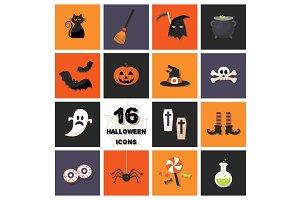 Halloween icons 2