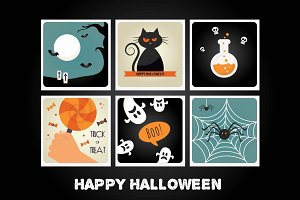 HALLOWEEN Cards/Invitations