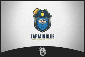 Captain Blue Logo