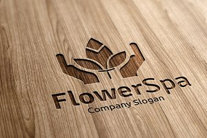 Flower Spa Logo
