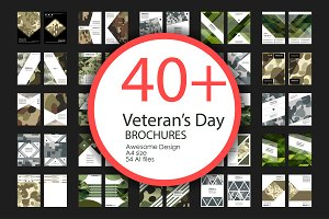 Veteran's Day Brochures Bundle