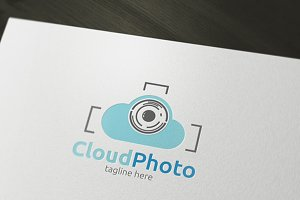 Cloud Photo Logo