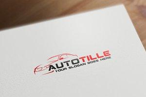 Auto Tille Logo Template