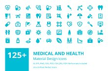 125+ Medical and Health Icons
