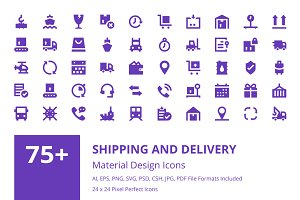 75+ Shipping and Delivery Icons