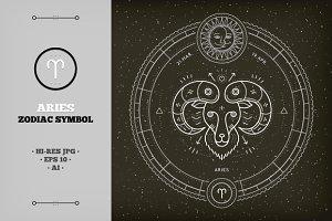 ♈ Aries Zodiac Symbol